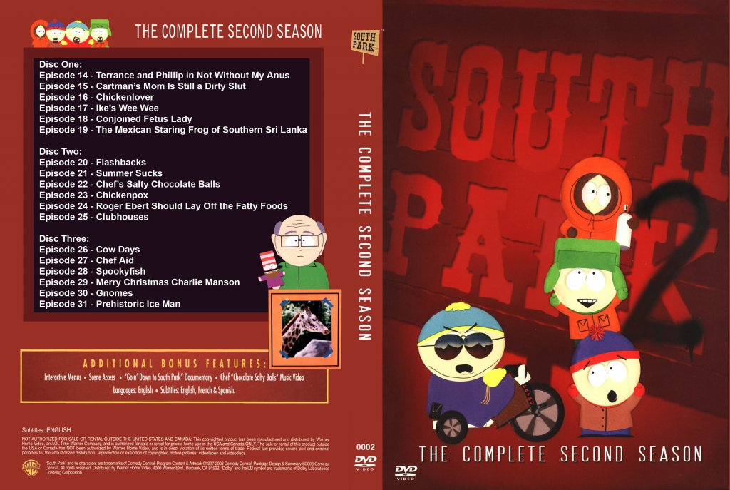South Park Season 2 - Single