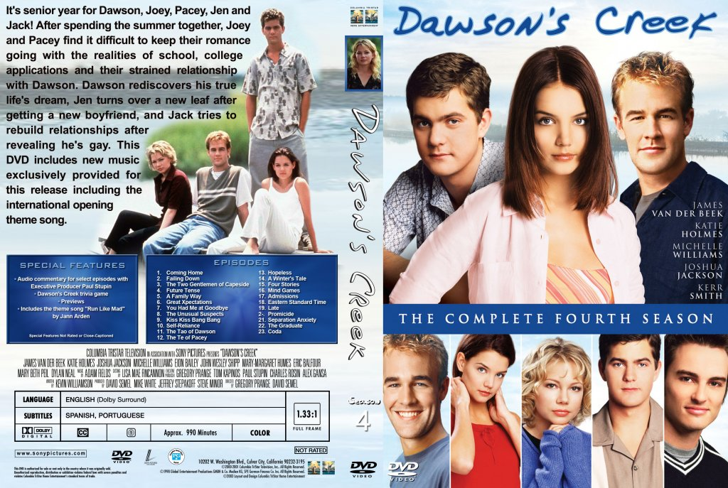 an analysis of the tv series dawsons creek Set in a small coastal, massachusetts town named capeside, dawson's creek tells the story of four teenagers as they struggle through adolescence.
