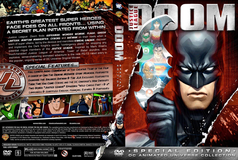 Justice League Doom - TV DVD Custom Covers - Justice ...