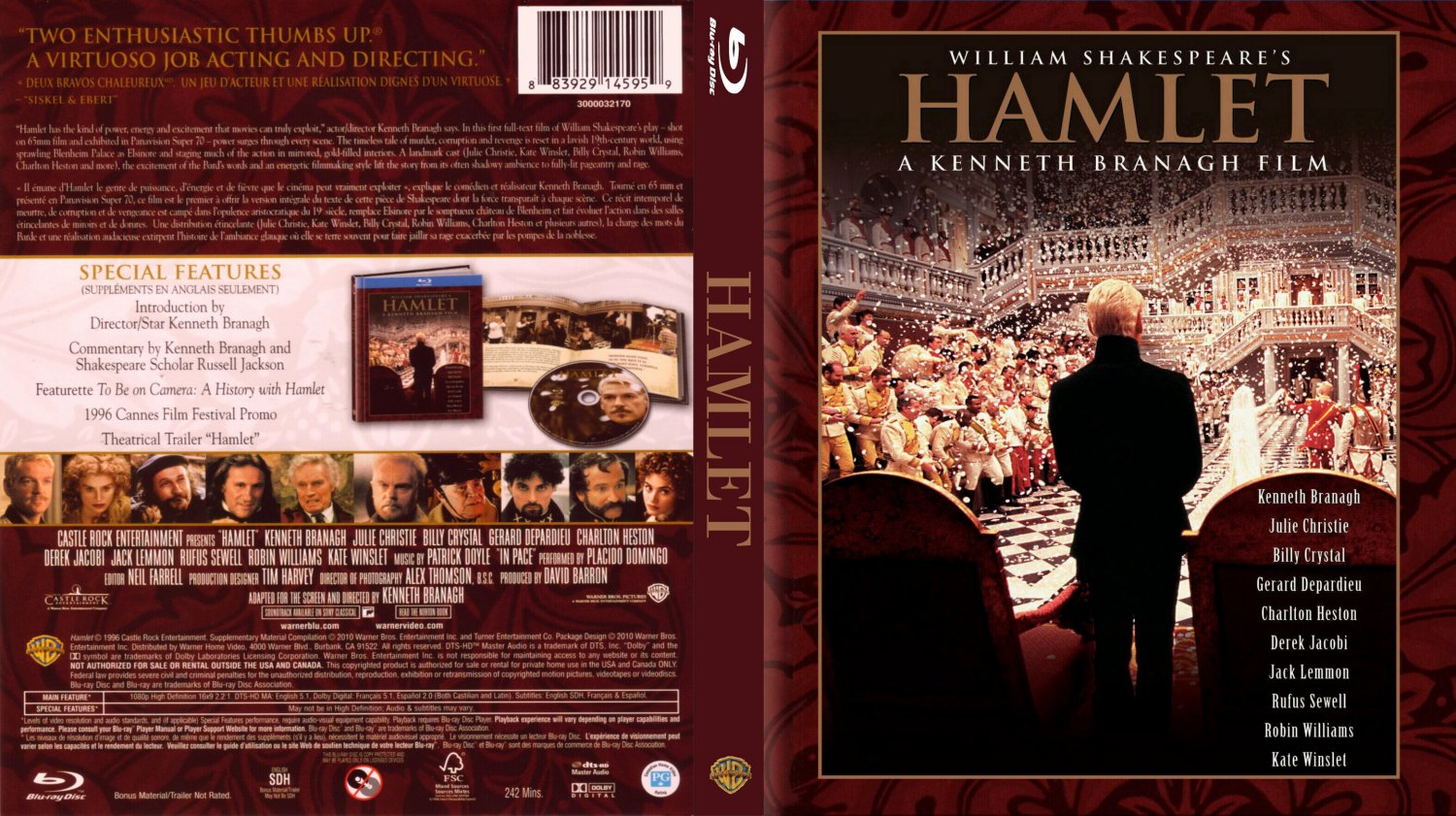 values hamlet comparison hamlet movie 2000 Shakespeare's famous revenge tragedy hamlet is a story of unrelenting twists  and thrills of madness and revenge i have chosen to compare.