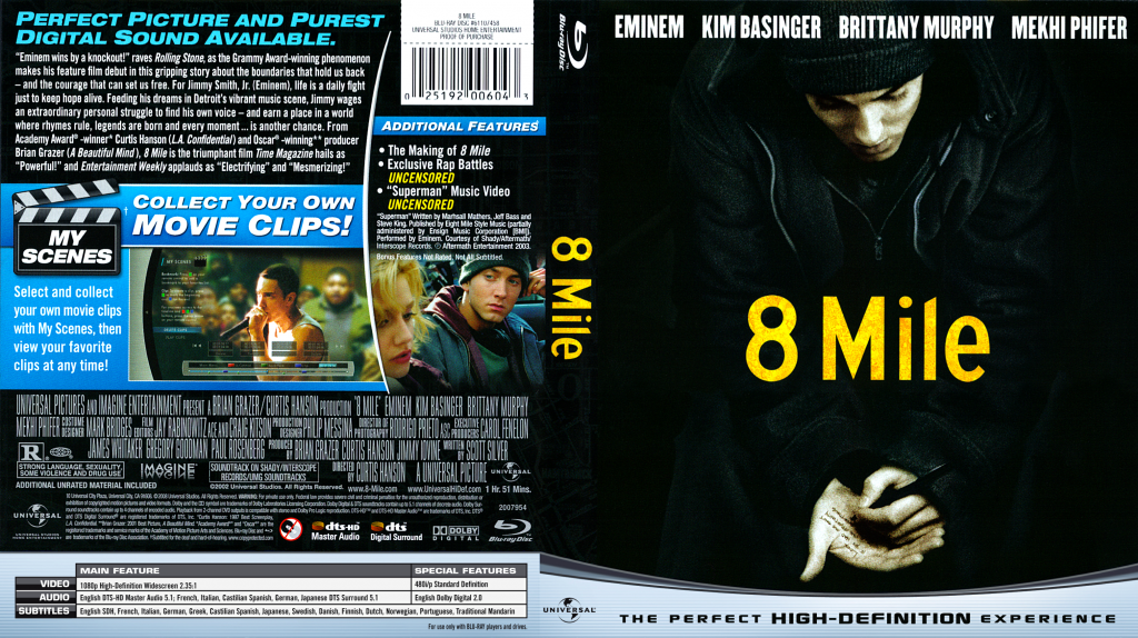 8 Mile Dvd 8 Mile