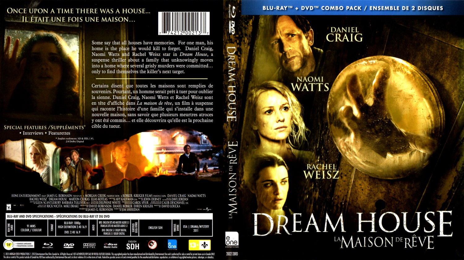 dream house la maison de reve movie blu ray scanned. Black Bedroom Furniture Sets. Home Design Ideas