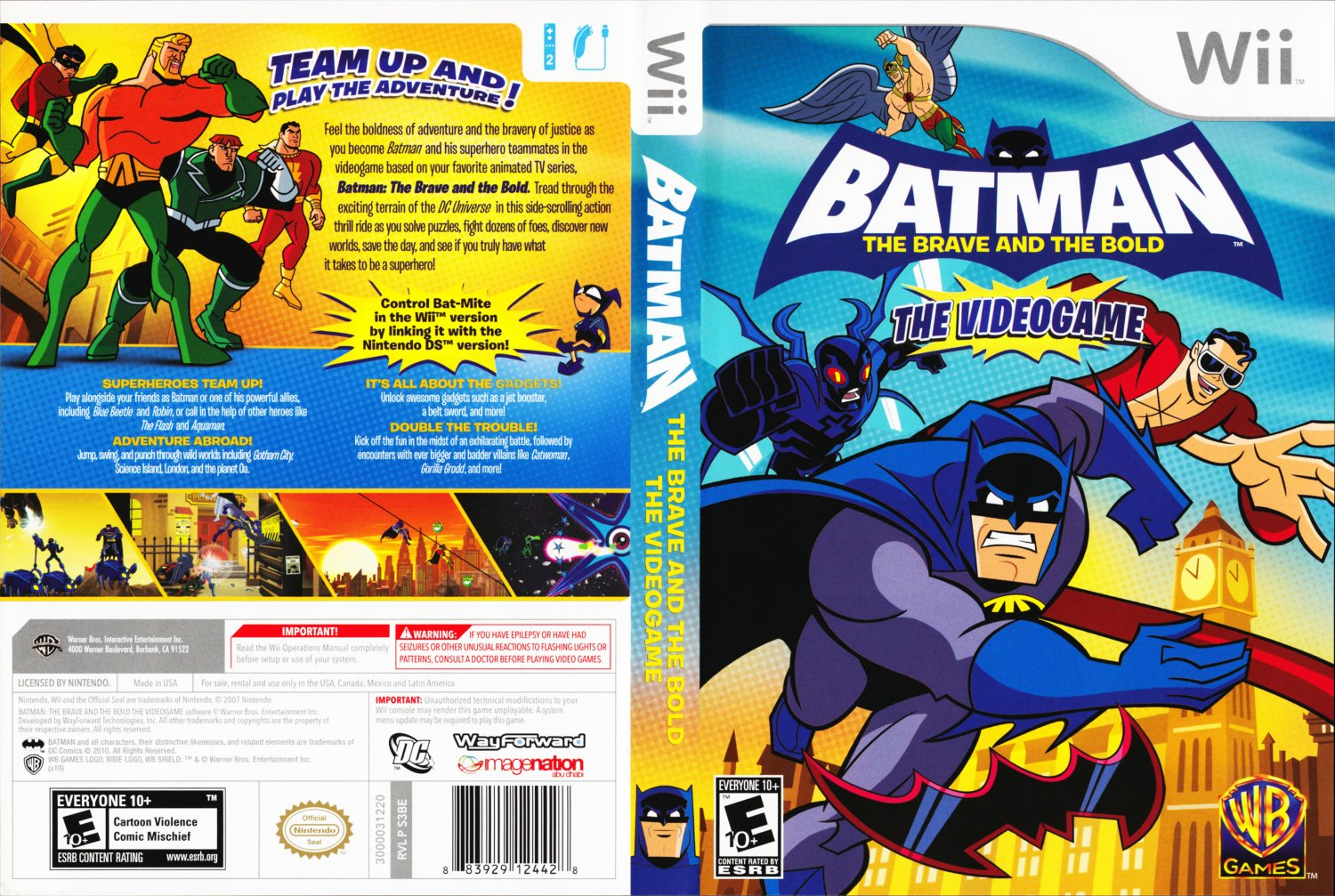Batman the bold and the brave