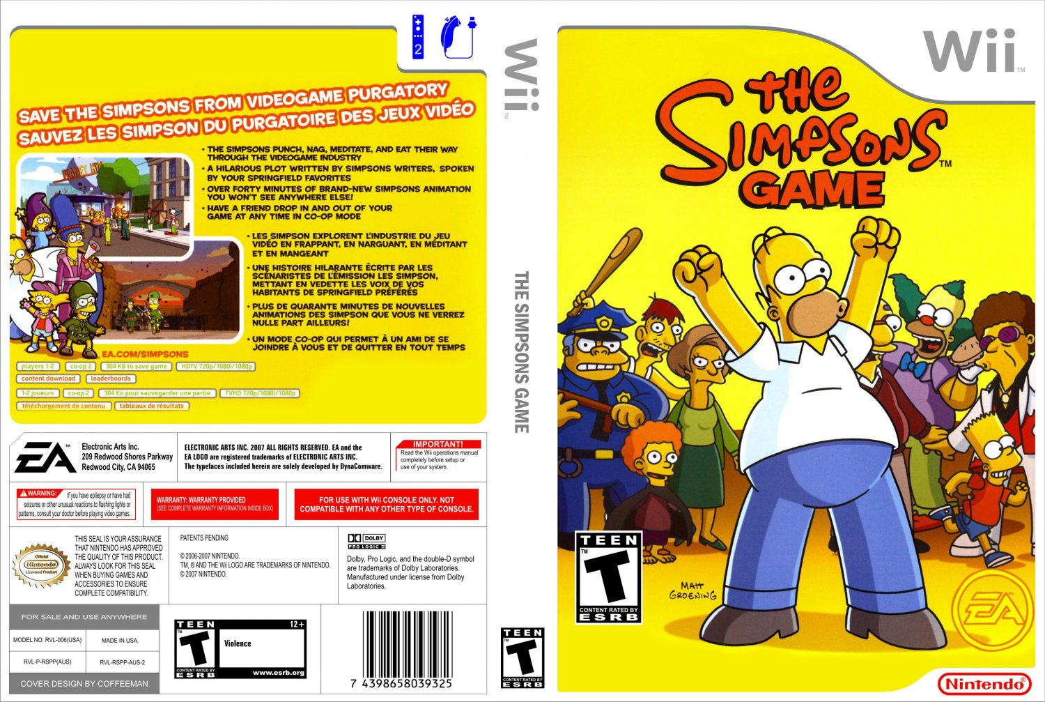 The Simpsons The Game Wii Iso - abcfayloobmennik