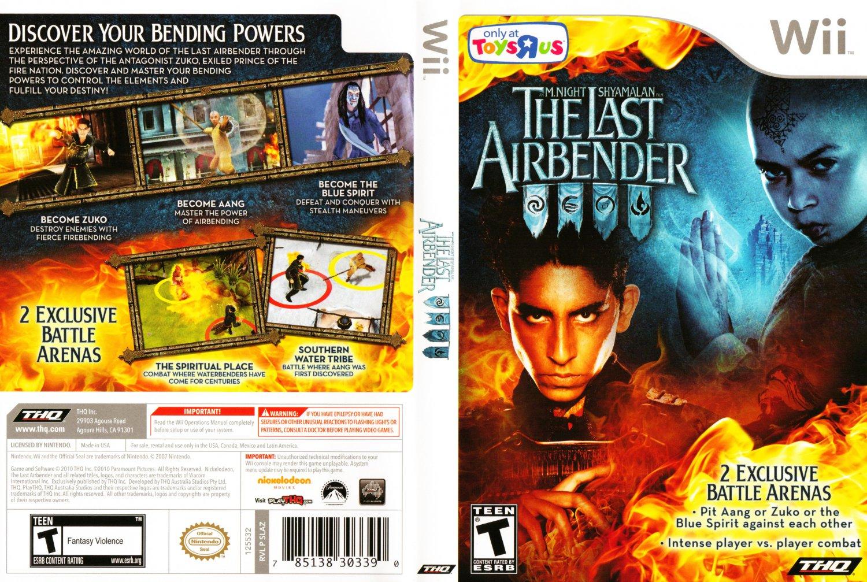 Avatar: The Last Airbender - Nintendo Wii