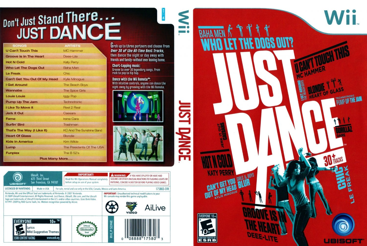 These are the dance broadway ntsc wii disc cover covers hut Pictures