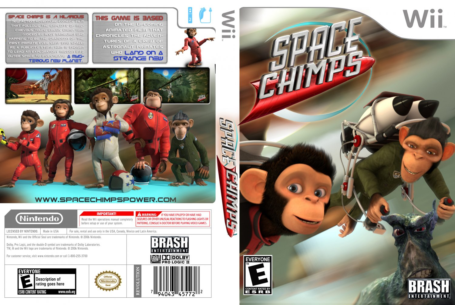 Space chimps nintendo wii game review