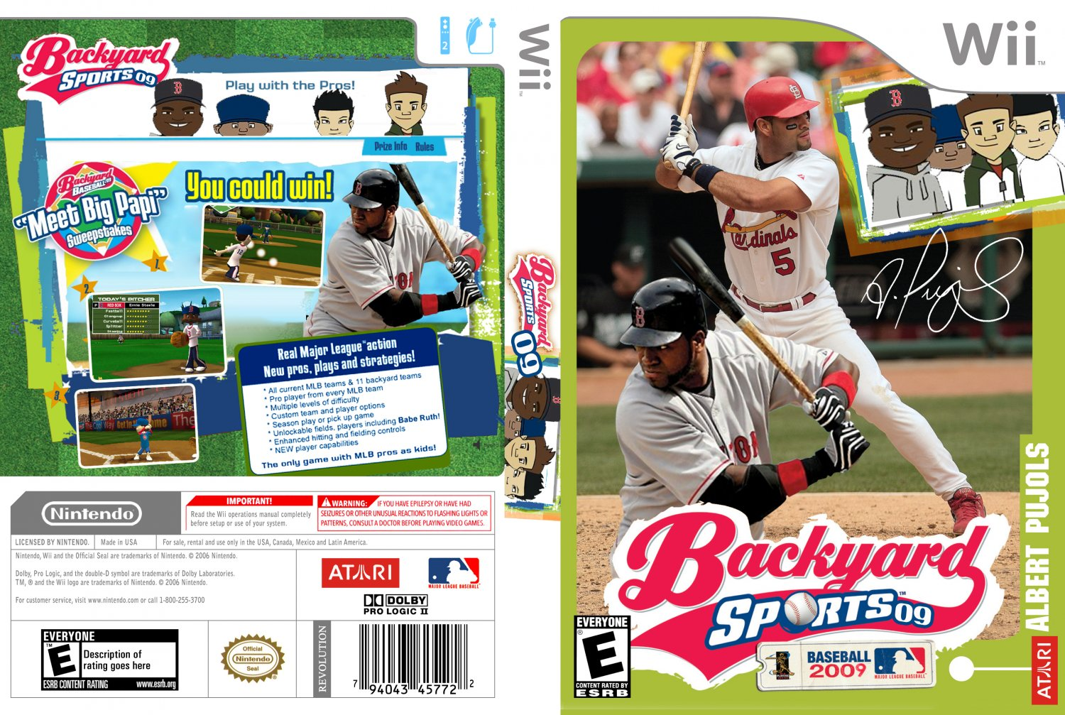 backyard baseball 09 usa wii full game free pc download play