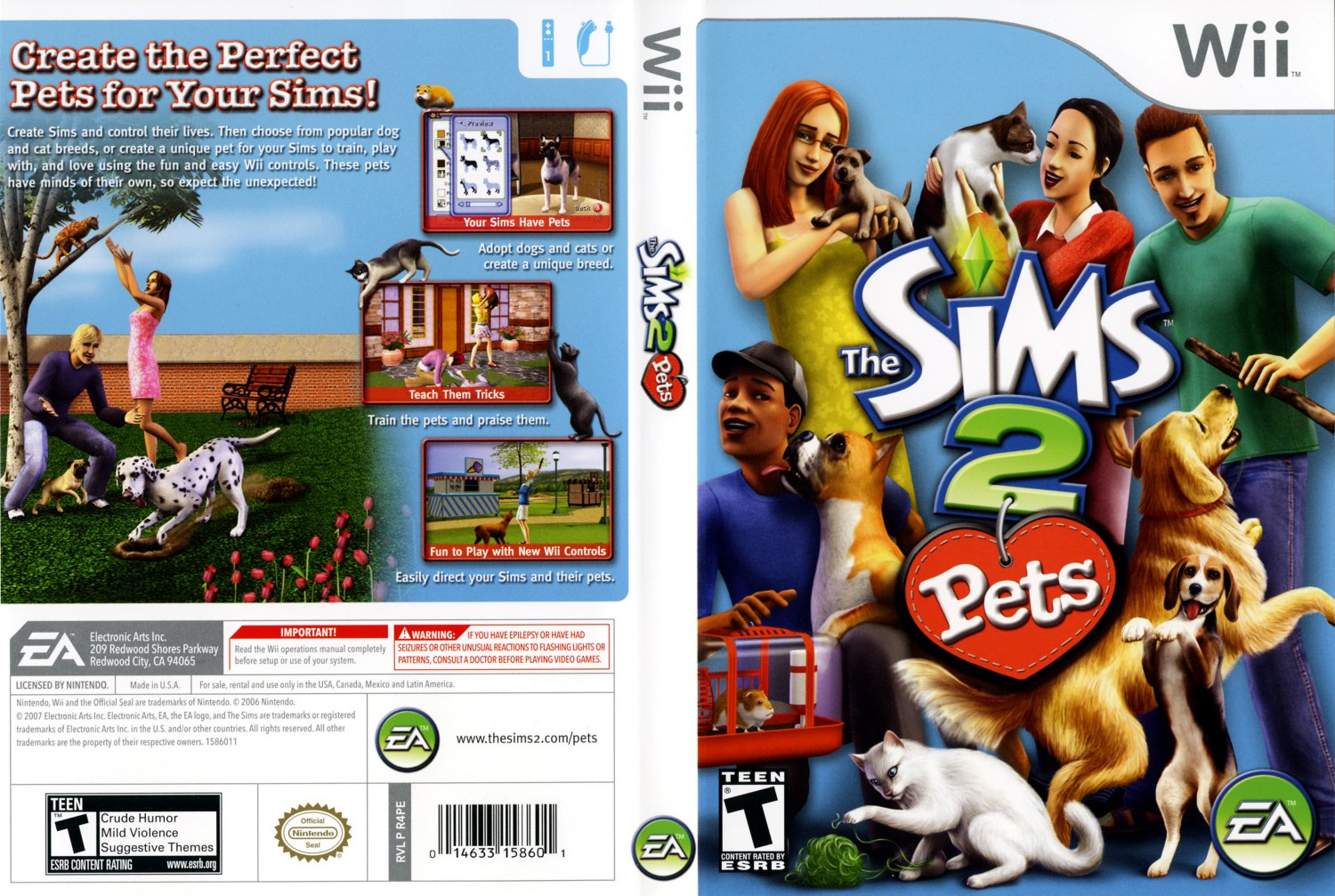 Sims  Cats And Dogs Pc Dvd