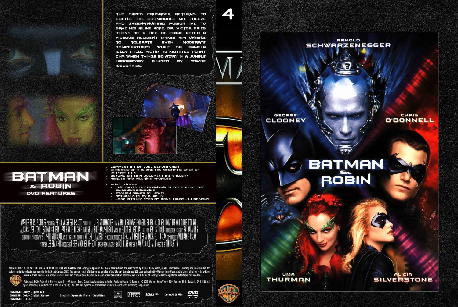 Batman And Robin DVD Cover
