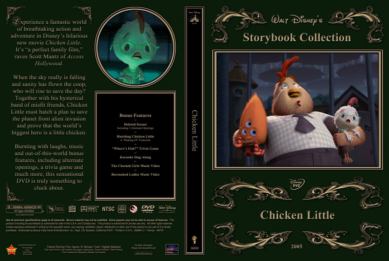 Chicken Little - Movie DVD Custom Covers - Chicken Little2 ...