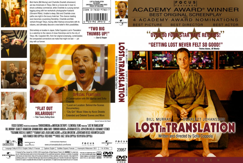 Lost in Translation - Movie DVD Custom Covers - Lost in Translation2 ... Lostintranslation