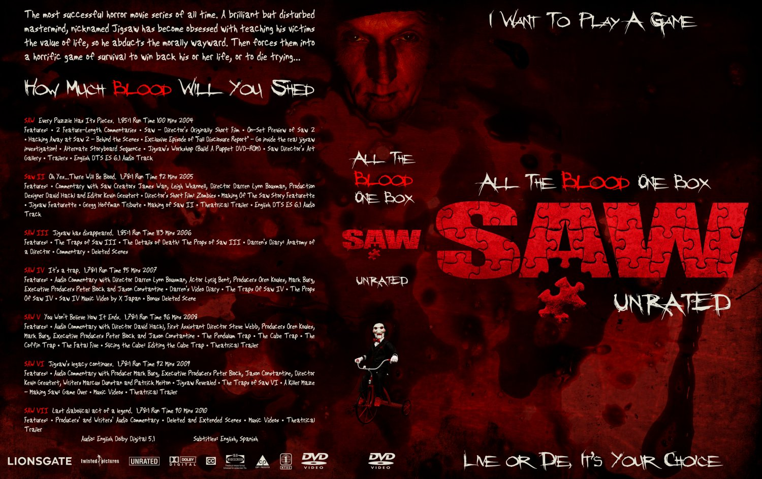 Creators of the movie saw