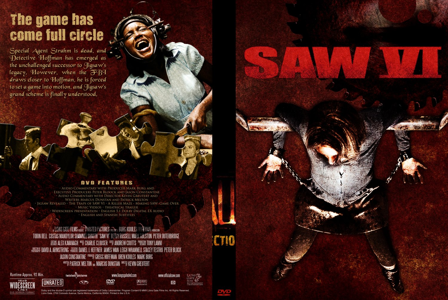 Saw Movies Dvd Covers Saw 1 Movie Cover