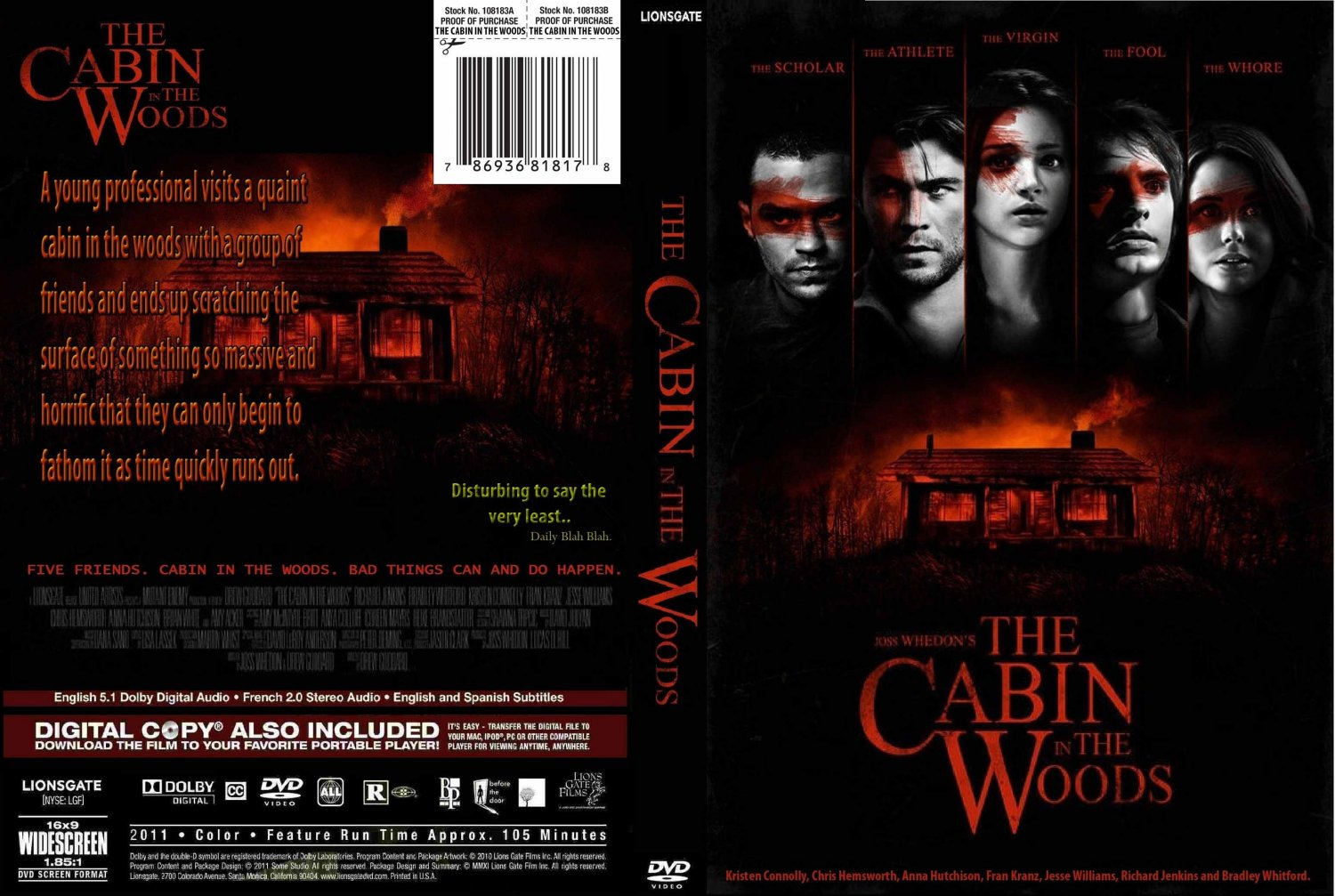 In the woods the cabin in the woods custom date 05 21 2012 size