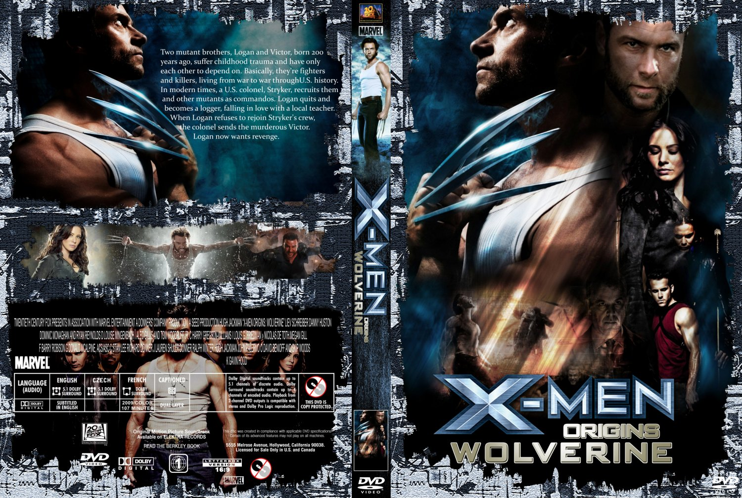 X-Men Origins-Wolverine Movie From W3 By Trivto On DeviantArt