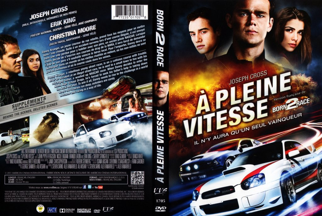 a pleine vitesse born 2 race movie dvd scanned covers. Black Bedroom Furniture Sets. Home Design Ideas