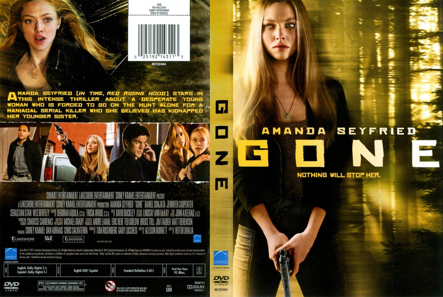DVD Covers Free Print Dvd Movie Cover for Pinterest Gone - Movie DVD ...