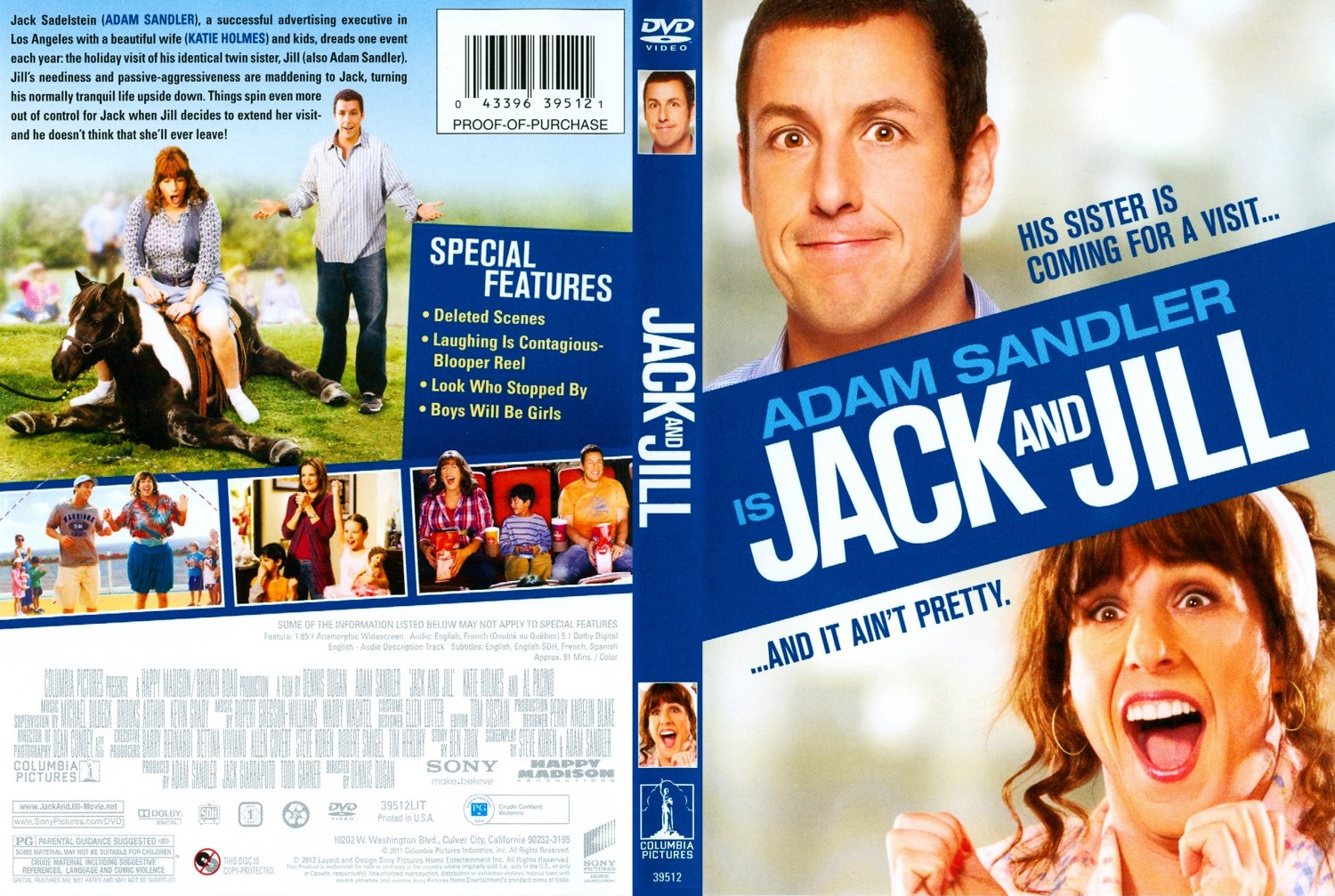 Jack And Jill Movie Dvd Scanned Covers Jack And Jill