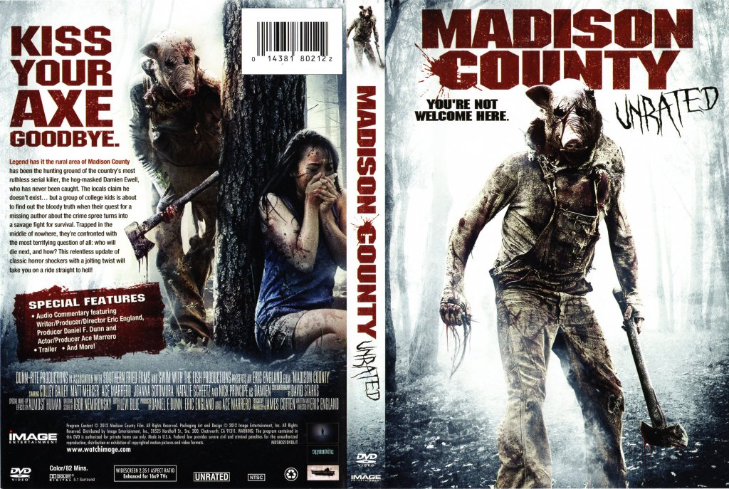 The Bridges of Madison County is a film directed by Clint Eastwood.List of  deaths in Madison County. Edit. Classic editor History Comments Share.