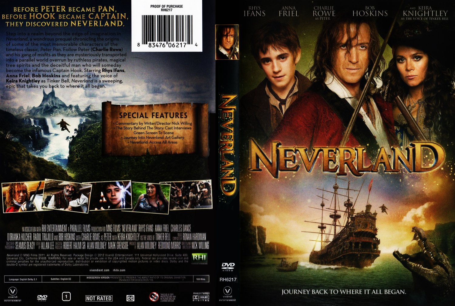 Neverland - Movie DVD Scanned Covers - Neverland :: DVD Covers