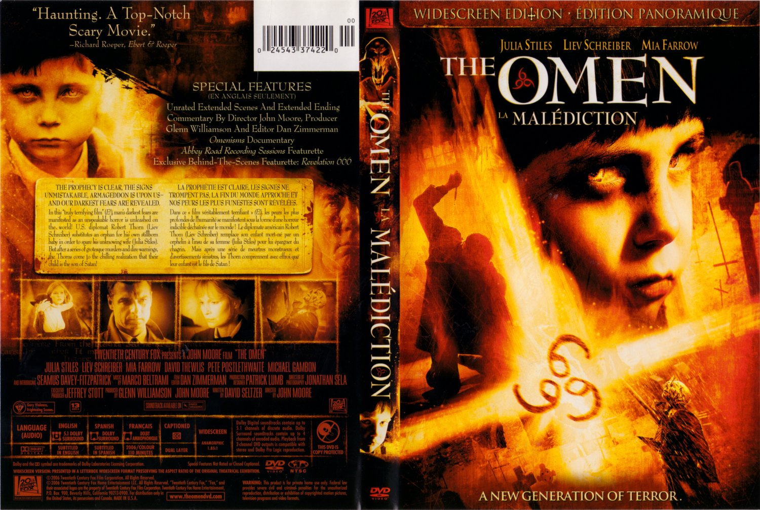 movie review the omen Audience reviews for the omen all this is not to say that the omen is a bad film, just that it works to normalize a controversial cultural ideology.