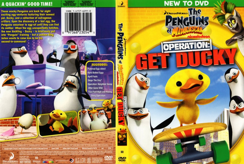 The Penguins of Madagascar Operation Get Ducky