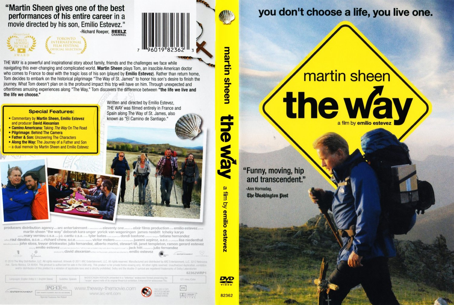 the way movie dvd scanned covers the way dvd covers