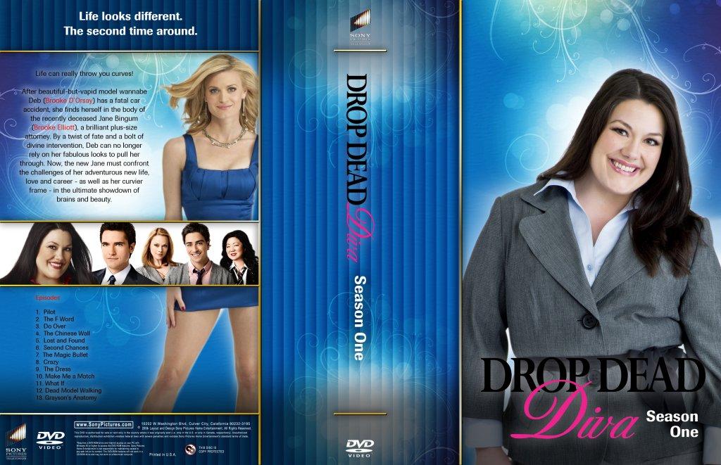 Drop dead diva season 1 tv dvd custom covers drop dead - Drop dead diva season 1 ...