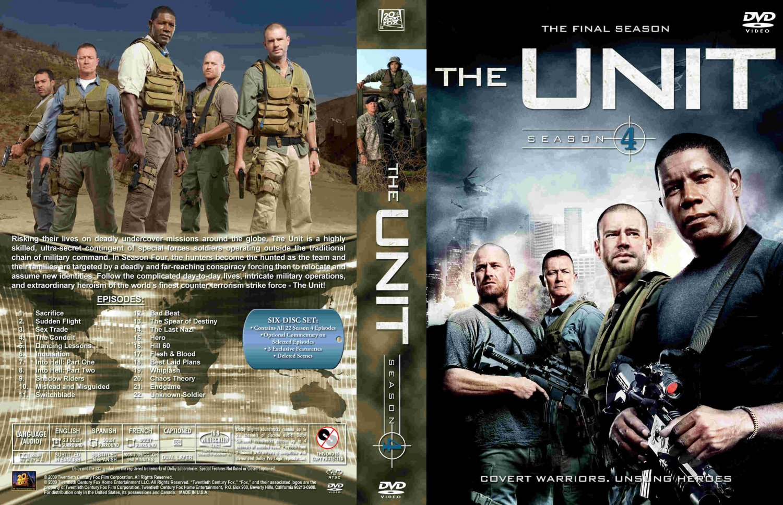 The unit season 4 tv dvd custom covers the unit season for 4 unit