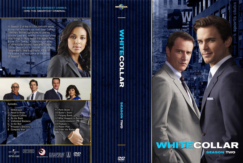 White Collar Season 2 - TV DVD Custom Covers - White Collar Season 2 - Custom :: DVD Covers