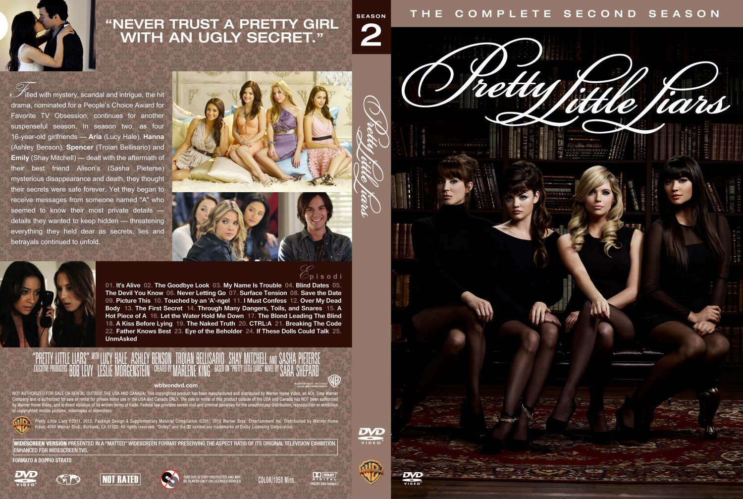 Little liars season 2 pretty little liars season 2 date 05 21 2012