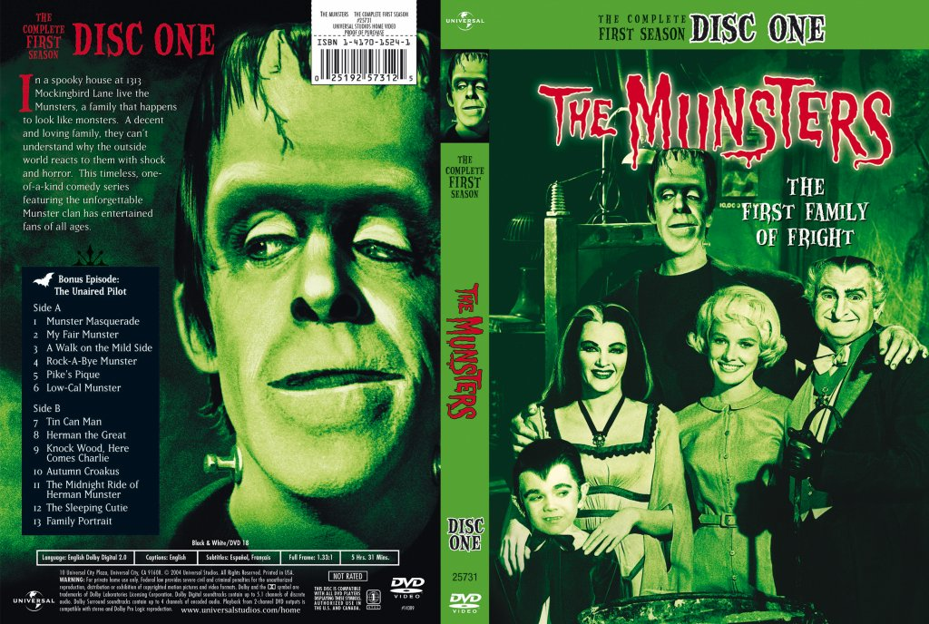 The Munsters Season 1 Disc 1