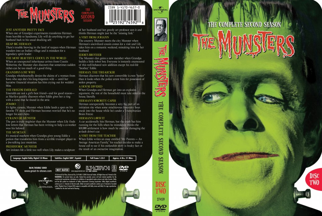 The Munsters Season 2 Disc 2