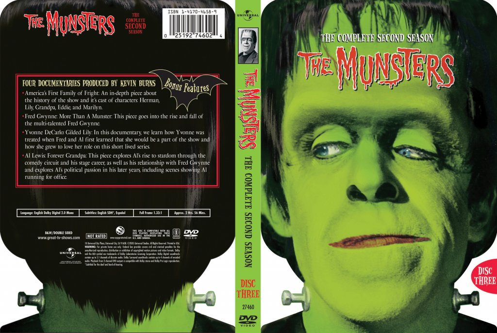 The Munsters Season 2 Disc 3