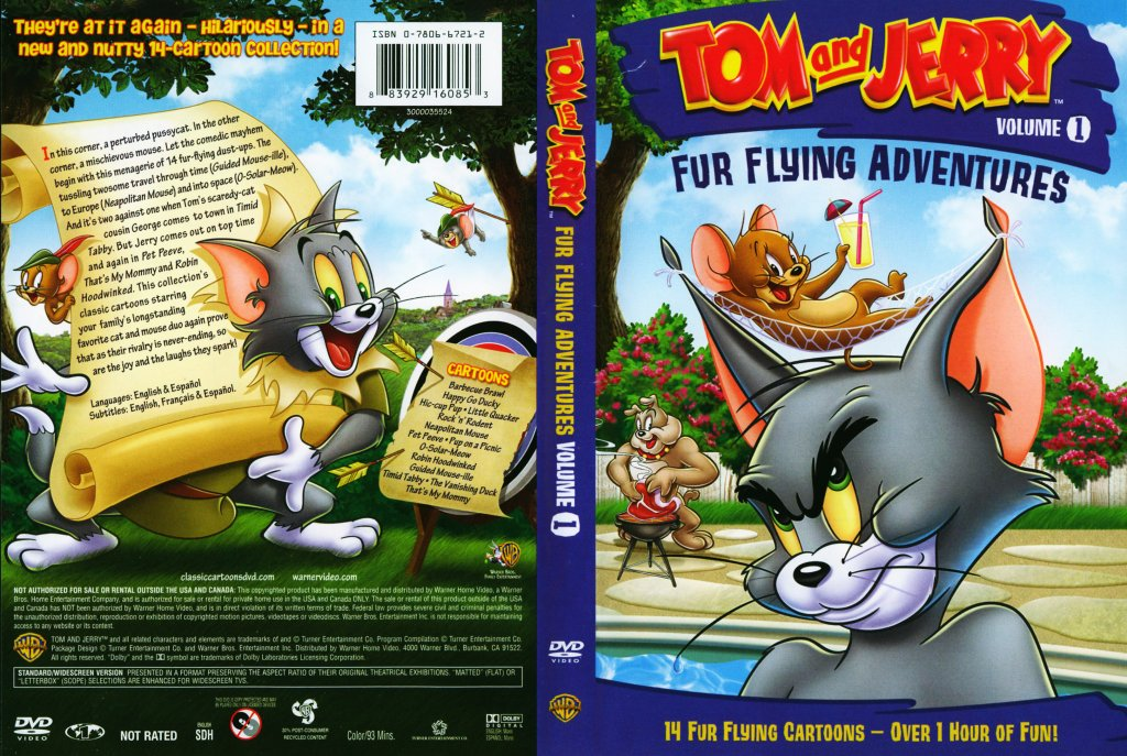 Tom And Jerry Fur Flying Adventures Vol 1