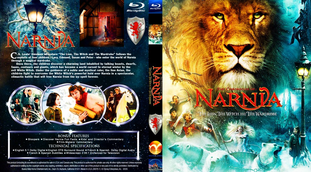 Narnia The Lion Witch And Wardrobe DVD