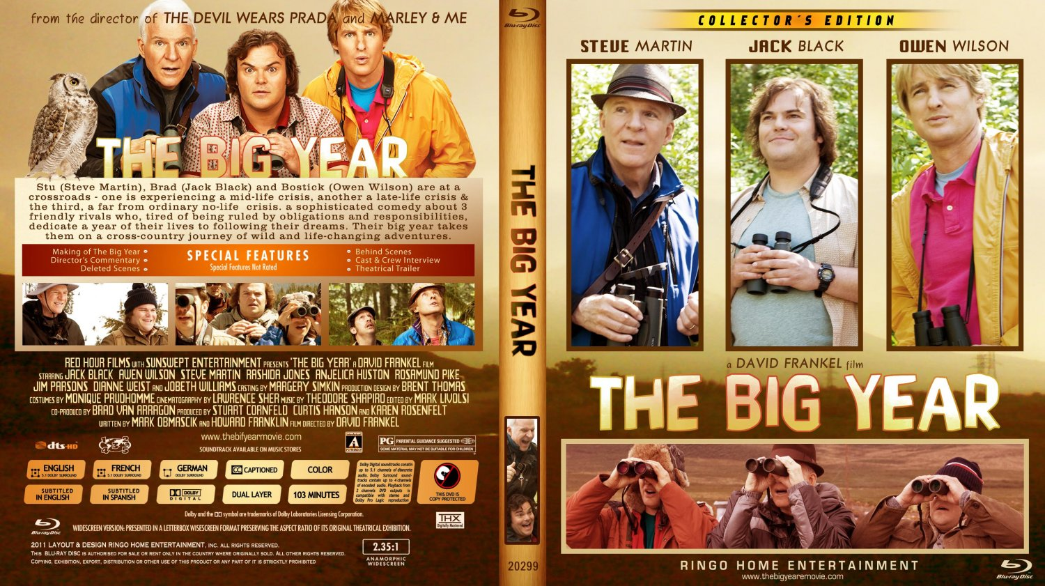COVERS.BOX.SK  |The Big Year Dvd