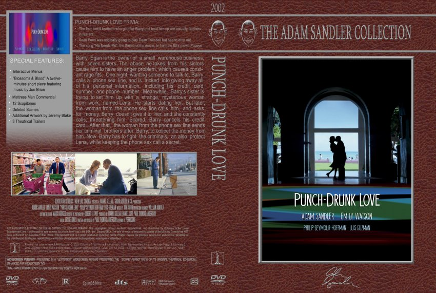 Punch-Drunk Love - Adam Sandler Collection - Movie DVD Custom Covers ...