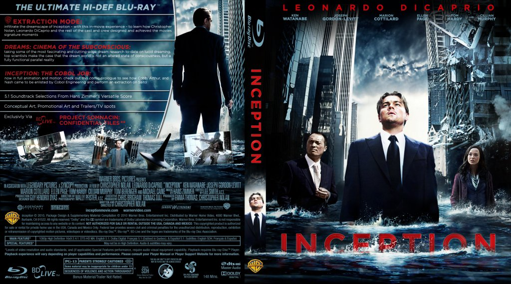 Inception Dvd Cover Art Inception - Mov...