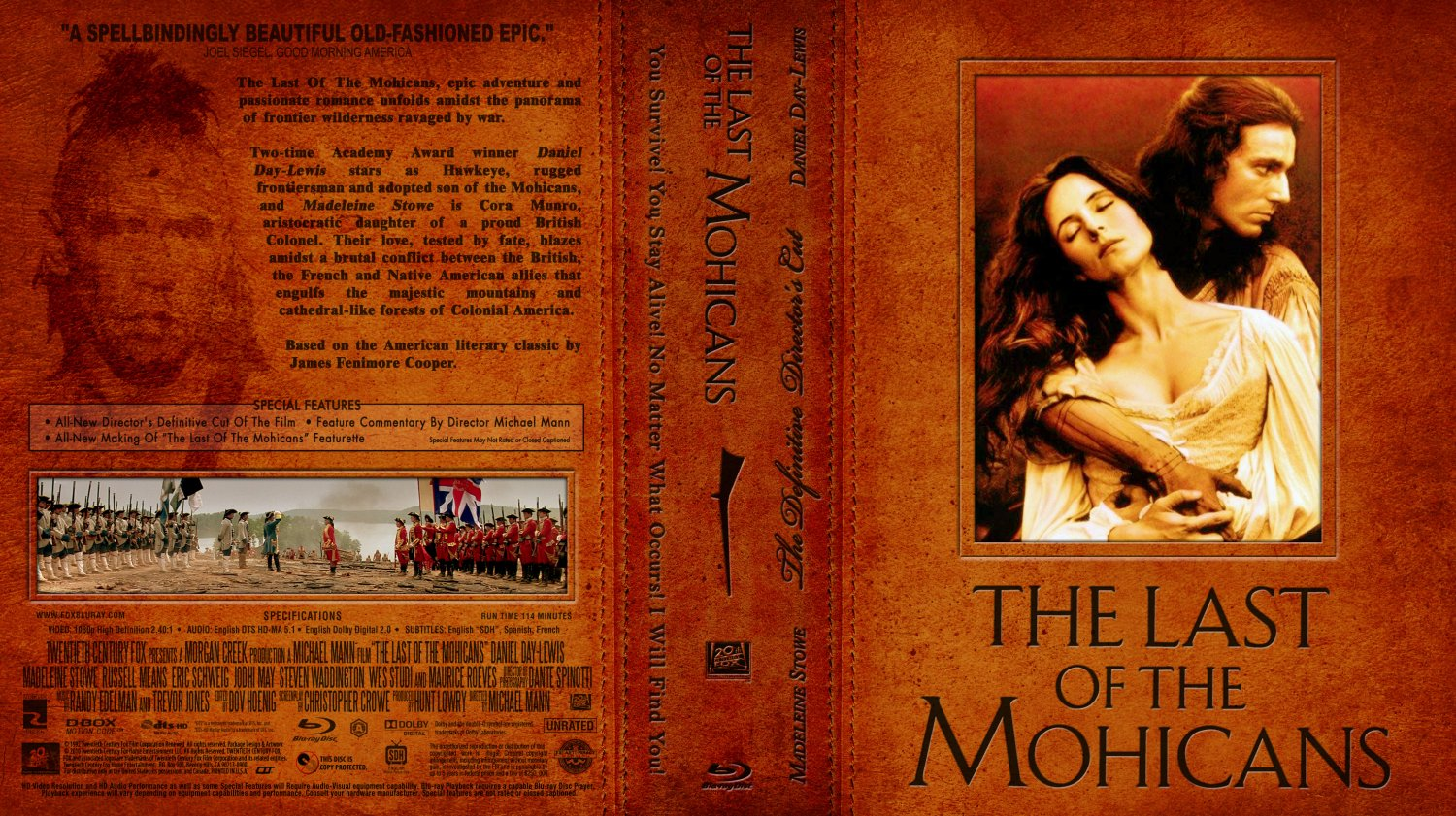 """the summary of last of the mohicans a historical epic movie """"the last of the mohicans"""" was released in 1992  the rest of the plot is based  on a novel, so there was no person named nathaniel  movie"""", but since it fits  better into other categories like historical epic or action romance."""