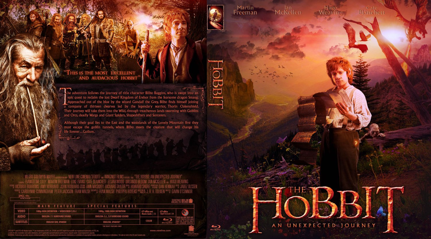 unexpected journey the hobbit an unexpected journey custom bluray date    The Hobbit An Unexpected Journey Dvd