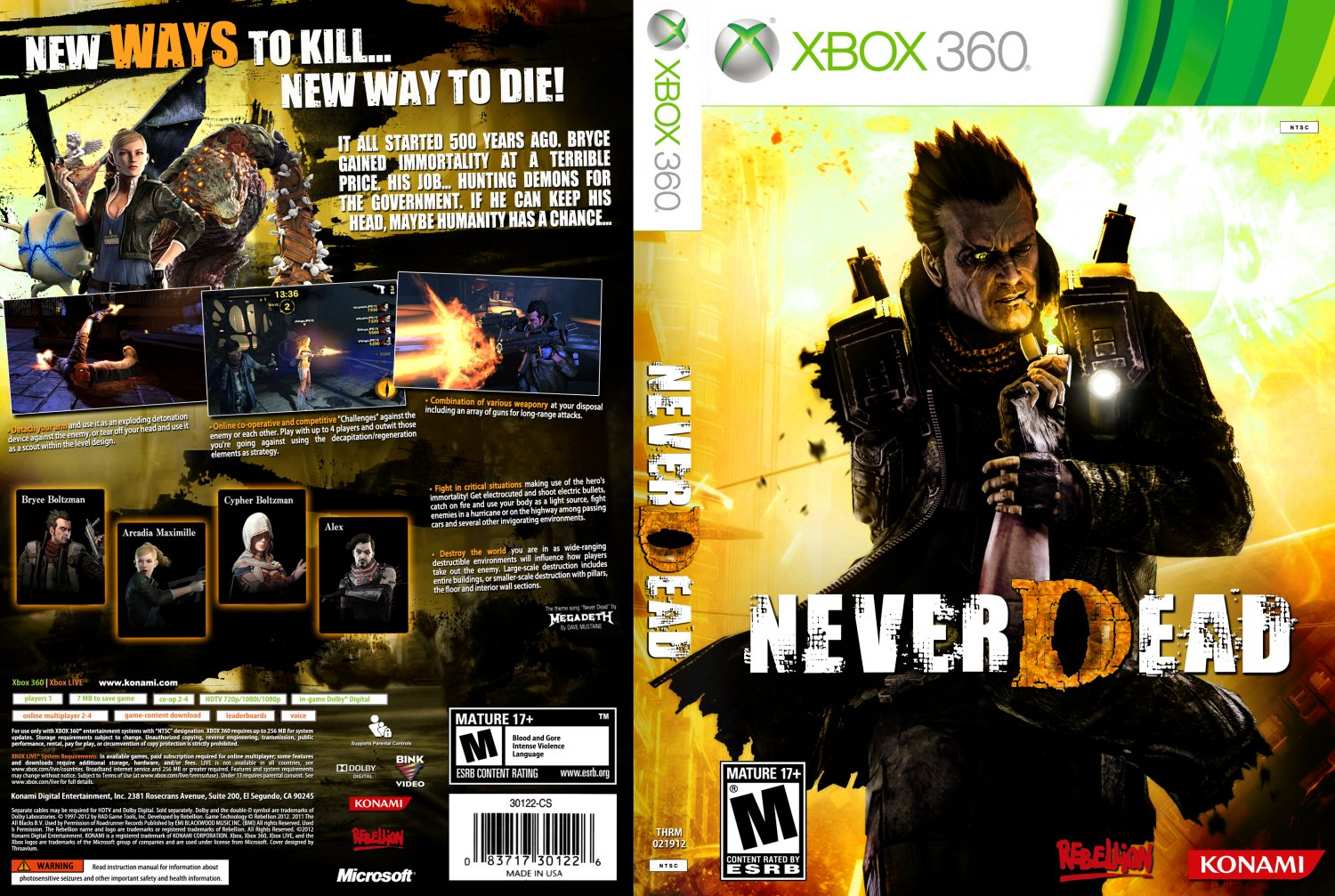 NeverDead - XBOX 360 Game Covers - 2012-thrm-neverdead ...