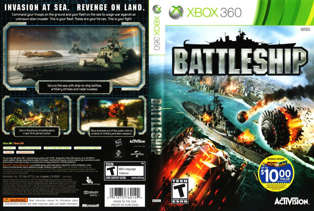 Ship Games For Xbox 360 : Battleship video game for xbox « the best