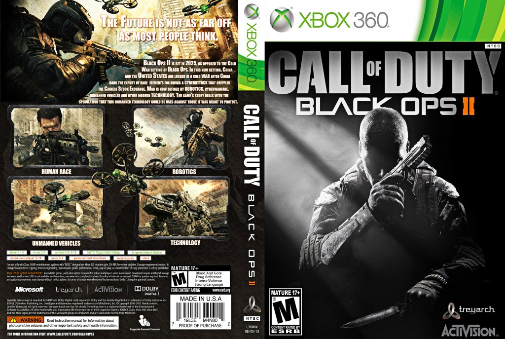 Xbox One Call Of Duty Black Ops 2 Call of Duty Black Ops...