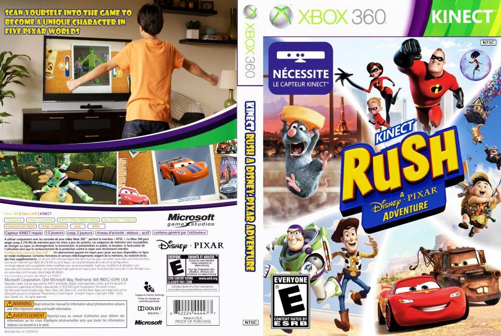 Hra pro konzoli Rush: A Disney Pixar Adventure - Xbox One na www.alza.cz.  Veškeré informace o produktu.  Vhodné příslušenství.  Hodnocení a recenze Rush:..