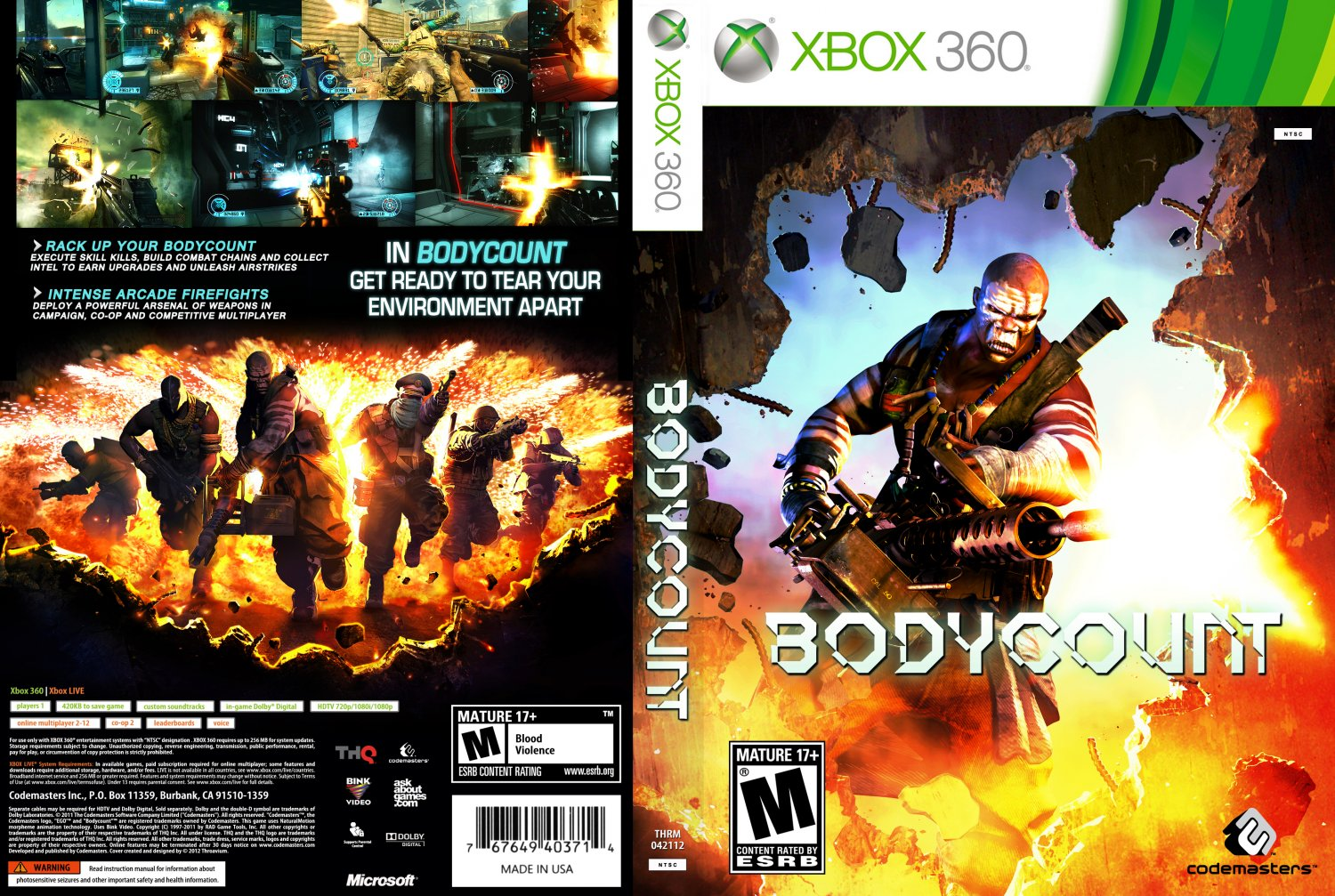 Bodycount - XBOX 360 Game Covers - x360-bc-thrm-front-NTSC ...