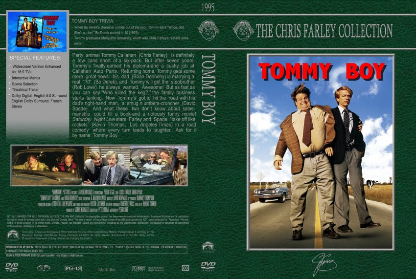 Tommy Boy - Chris Farley Collection
