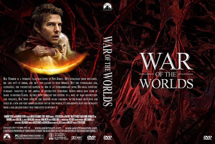Dvd World War z War of The Worlds Custom v2