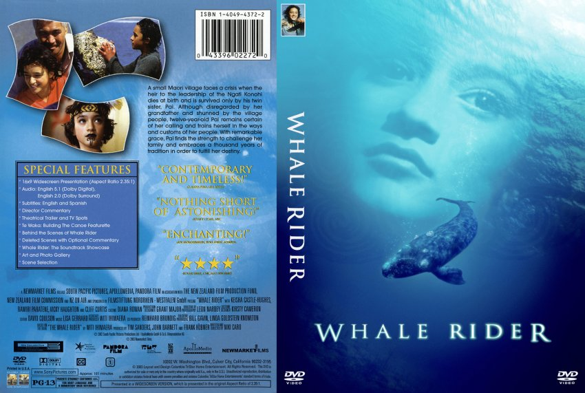 whale rider movie review Whale rider encapsulates the grace and beauty of international cinema it's uplifting, dramatic, and bursting with unwavering spirit based on the novel by witi ihimaera and brought to life by director/writer niki caro, whale rider is a compassionate coming-of-age film about a 12-year-old girl who must overcome prejudice and disdain to find.